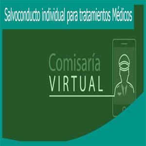 Solicitar Salvoconducto individual para tratamientos Médicos